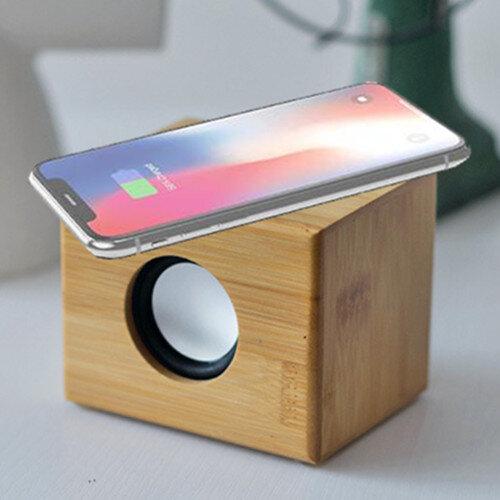 Bamboo Wireless Charging Bluetooth